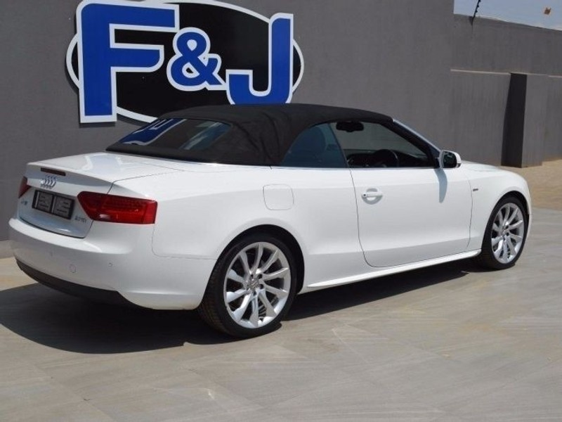 Used Audi A5 20 Tdi Se Cabriolet Mtronic S Line For Sale In Gauteng