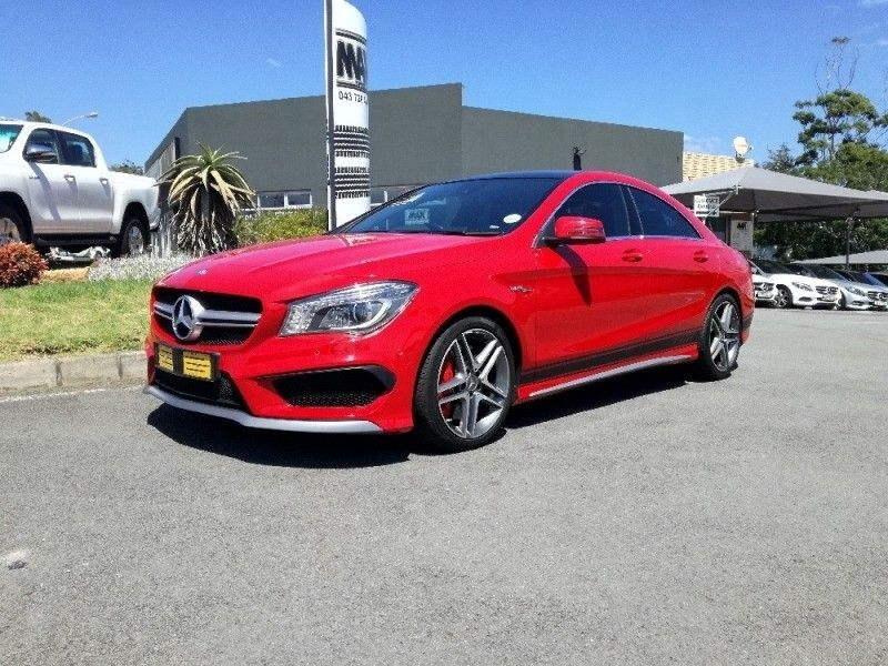 used mercedes benz cla class cla45 amg for sale in eastern cape id 3013530. Black Bedroom Furniture Sets. Home Design Ideas