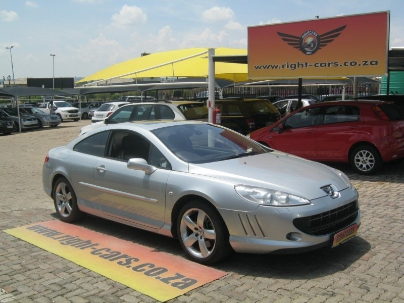 used peugeot 407 2 7 hdi coupe manual for sale in gauteng cars co rh cars co za Peugeot 407 Manual PDF Peugeot 407 Interior