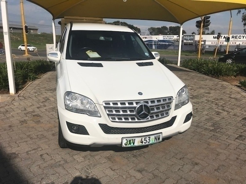 2010 Mercedes-Benz M-Class Ml 350 Cdi At  Gauteng Vereeniging_0
