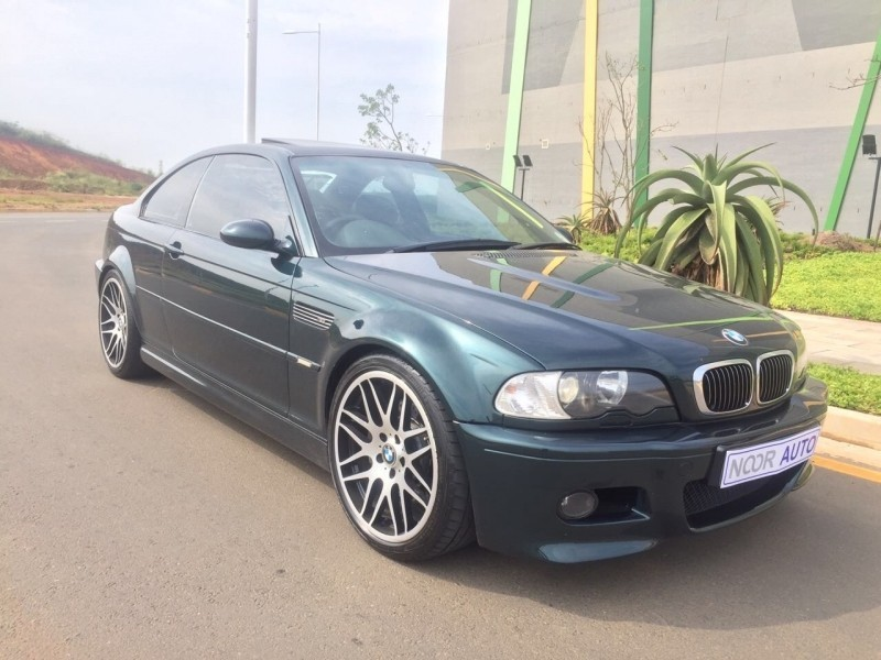 2003 BMW M3 M3E46 BRITISH GREEN WITH BLACK Kwazulu Natal Umhlanga Rocks_0