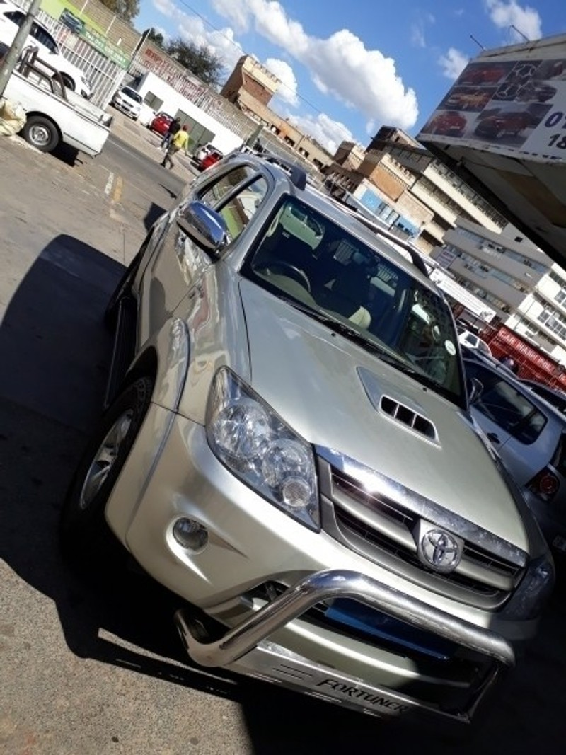 Used Toyota Fortuner 3 0 D 4 D Suv 2008 Model For Sale In
