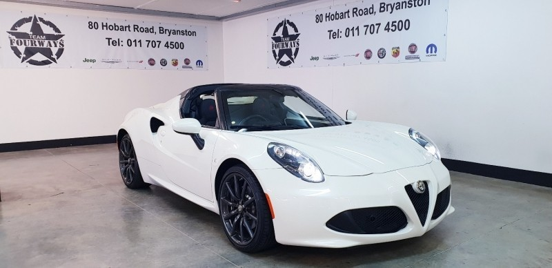 Used Alfa Romeo C Spider For Sale In Gauteng Carscoza ID - Used alfa romeo 4c for sale
