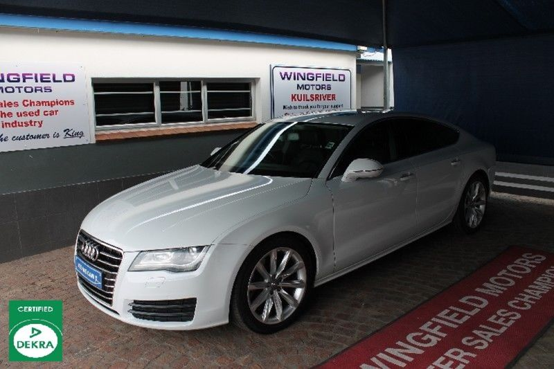 2012 Audi A7 Sprtback 3.0 Tdi Quat Stronic  Western Cape Kuils River_0