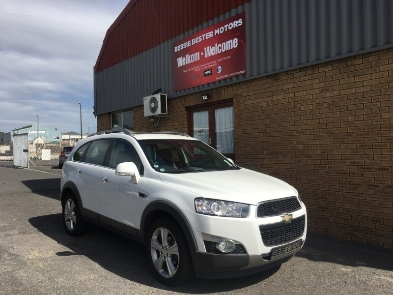 Used Chevrolet Captiva 22d Ltz 4x4 At For Sale In Western Cape