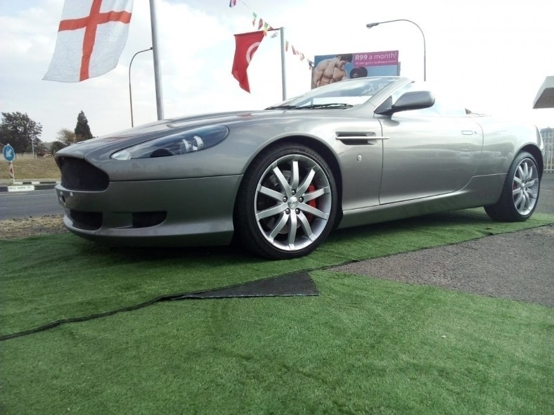 Used Aston Martin DB Convertible At For Sale In Gauteng Carsco - Used aston martin db9 for sale
