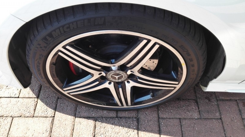 used mercedes-benz cla-class 250 sport 4matic, amg line with