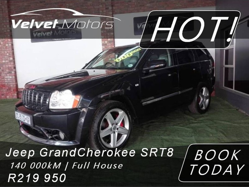 2007 Jeep Grand Cherokee Srt8 For Sale In Gauteng