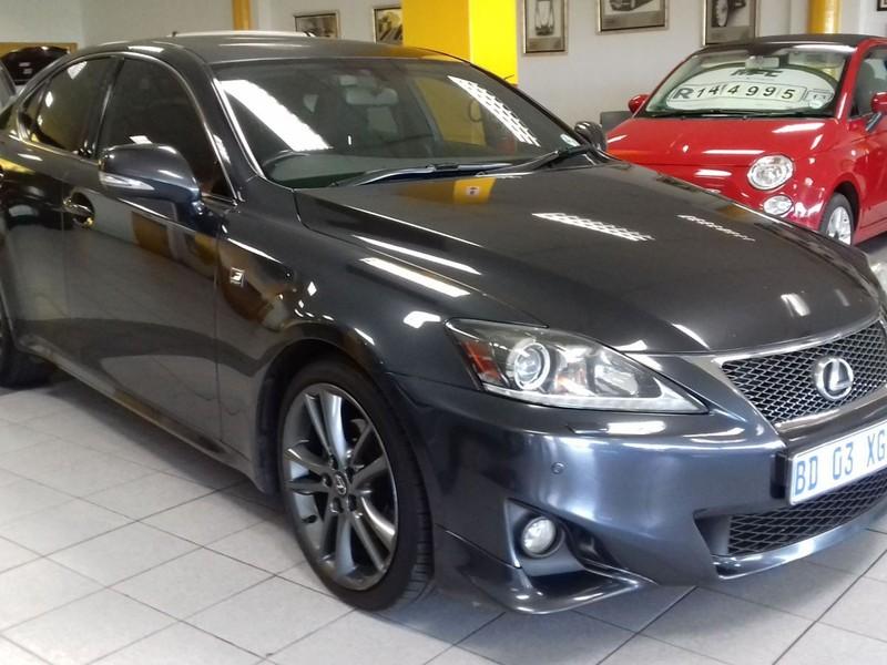 2011 Lexus IS 250 F Sport For Sale In Western Cape