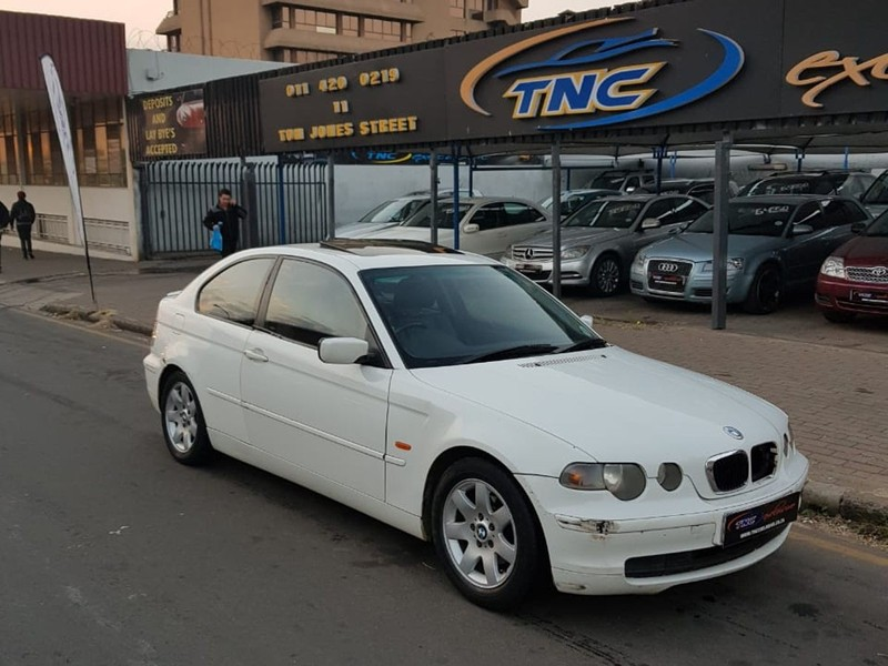 2003 BMW 3 Series 318TI WHITE For Sale In Gauteng