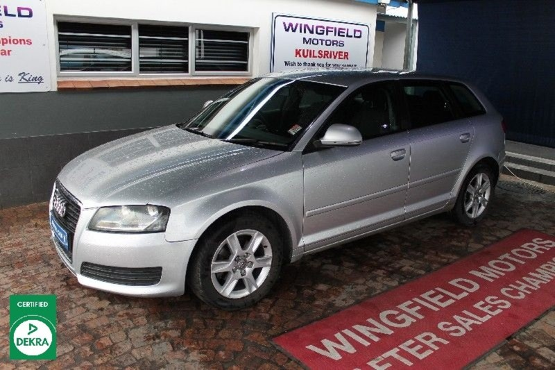 2009 Audi A3 Sportback 1.9tdi Attraction  Western Cape Kuils River_0