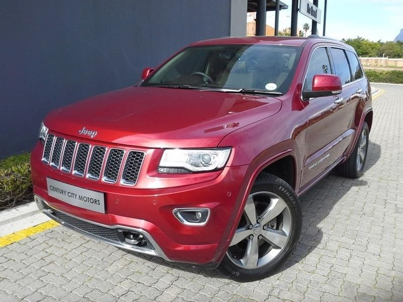 used jeep grand cherokee 5 7 v8 overland for sale in western cape id 3857592. Black Bedroom Furniture Sets. Home Design Ideas
