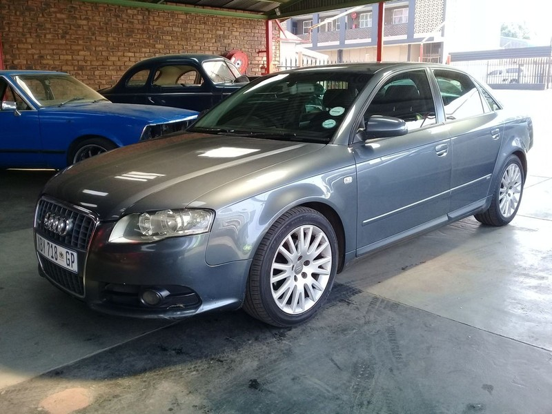 Used Audi A4 20 Tdi B7 125kw S Line Pack Manual For Sale In