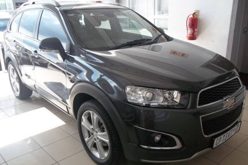 Used Chevrolet Captiva 22d Ltz 4x4 At For Sale In Gauteng Cars