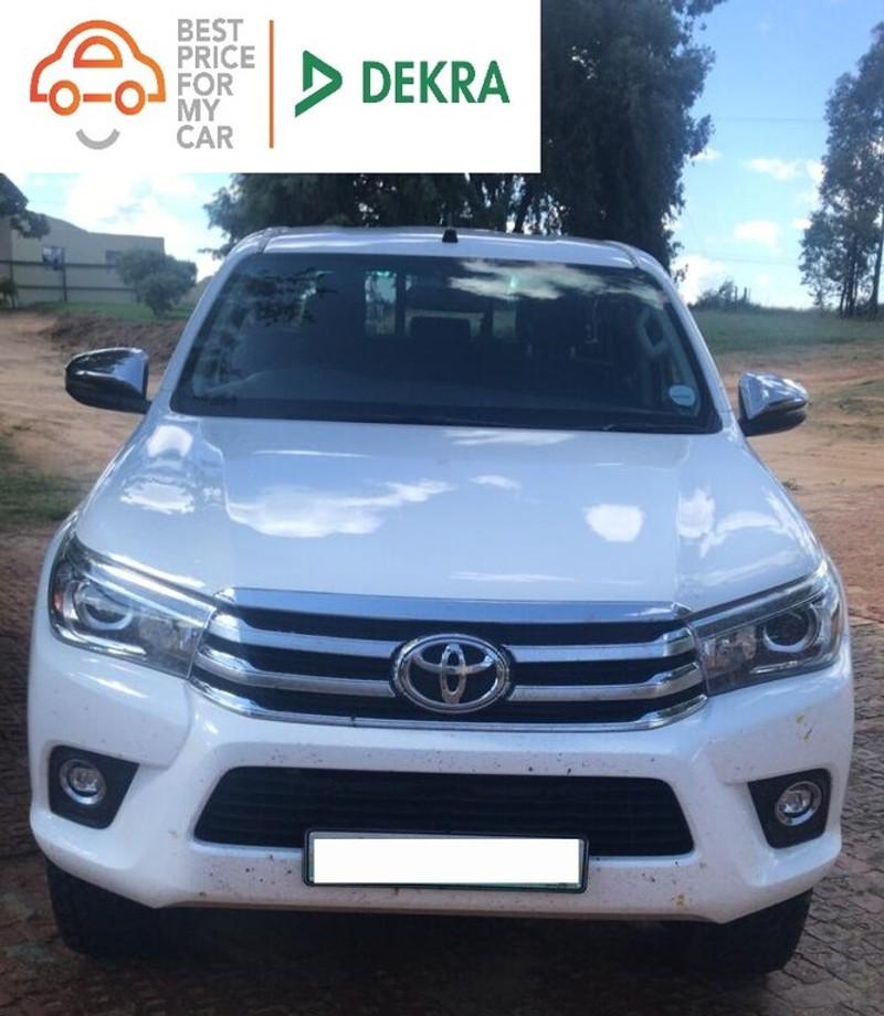 2017 Toyota Hilux 2.8 GD-6 Raider 4X4 Double Cab Bakkie Auto Western Cape Goodwood_0