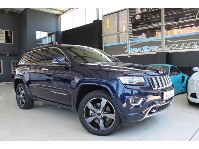 used jeep grand cherokee v6 crd overland for sale in gauteng id 4120970. Black Bedroom Furniture Sets. Home Design Ideas
