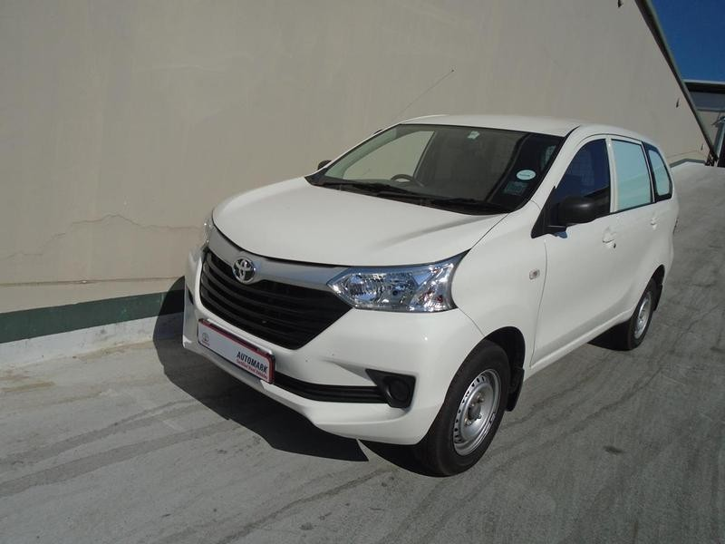 2018 Toyota Avanza 1.3 S FC PV Gauteng Rosettenville_0