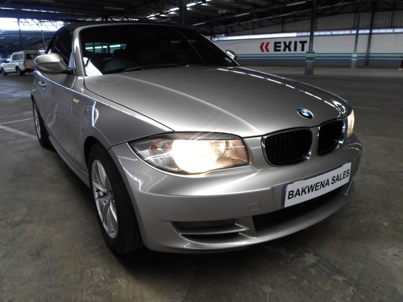 2010 BMW 1 Series 2010 BMW 120i Convertible  Gauteng Karenpark_0