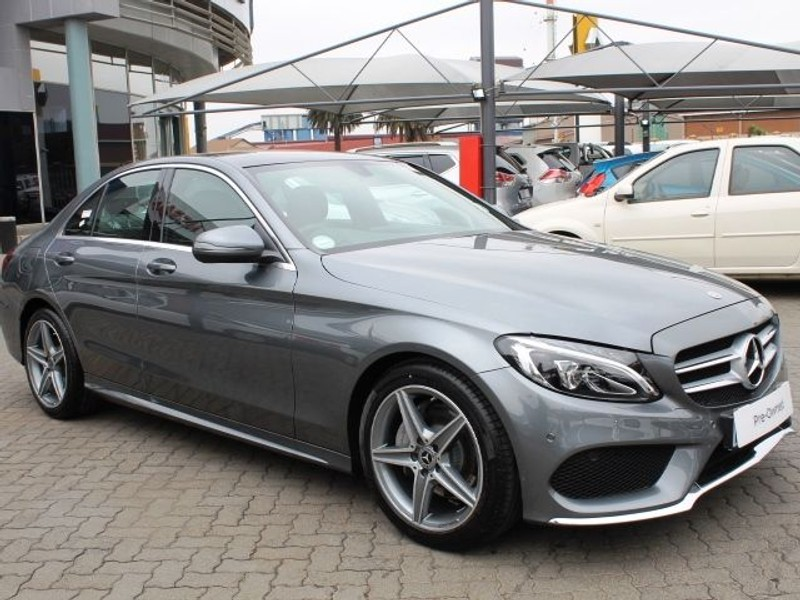 Used Mercedes Benz C Class C180 Amg Line Auto For Sale In Gauteng