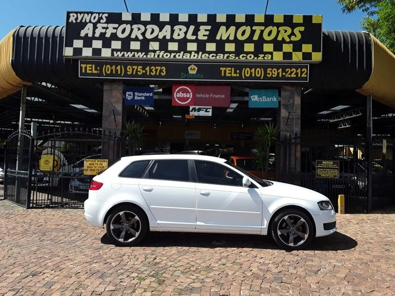 Used Audi A3 Sportback 1.9tdi Attraction for sale in Gauteng - Cars ... 98880635bf2