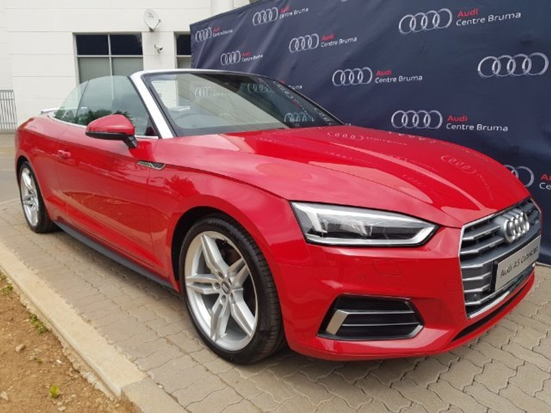 Used Audi A5 20t Fsi Cabriolet Sport Stronic For Sale In Gauteng