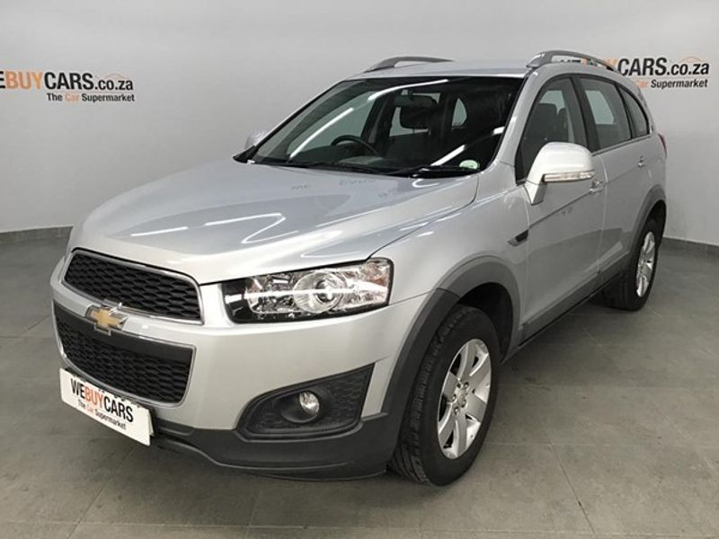 Used Chevrolet Captiva 24 Lt For Sale In Gauteng Cars Id