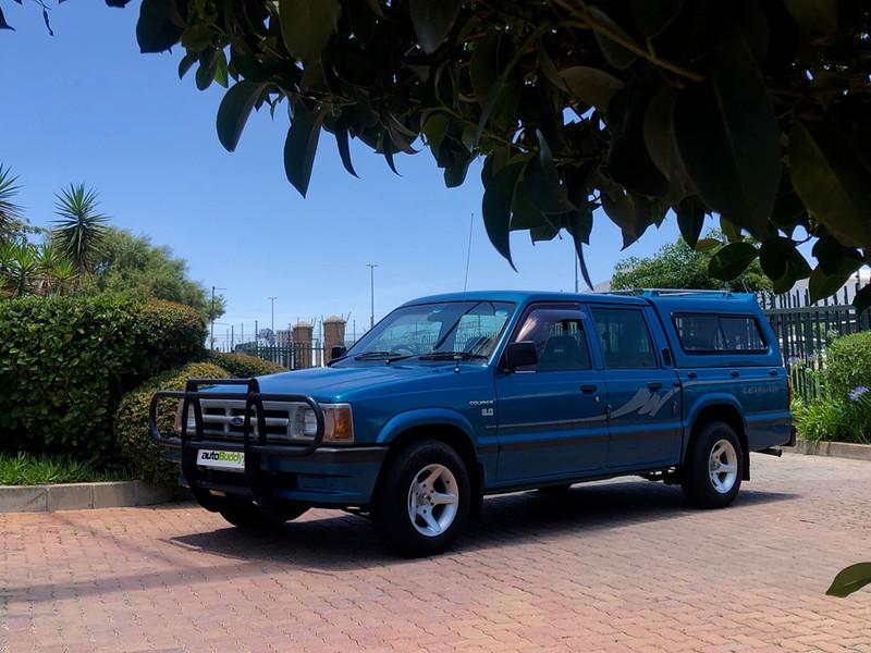 1996 Ford Courier 3000 Ac Pu Dc  Gauteng Centurion_0
