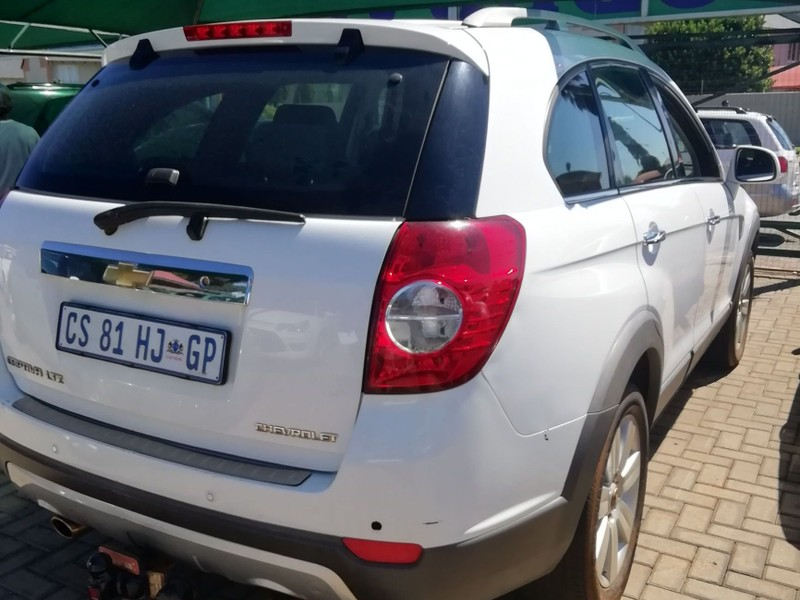 Used Chevrolet Captiva 32 Ltz 4x4 At For Sale In Gauteng Cars