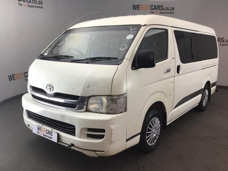 2011 Toyota Quantum 2.7 10 Seat  Gauteng Centurion_0