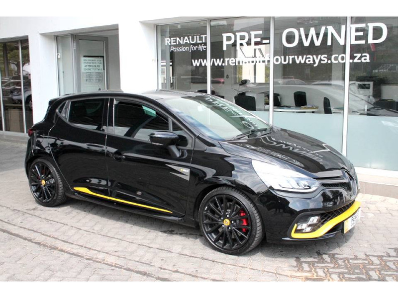 used renault clio iv rs 18 f1 edc for sale in gauteng. Black Bedroom Furniture Sets. Home Design Ideas