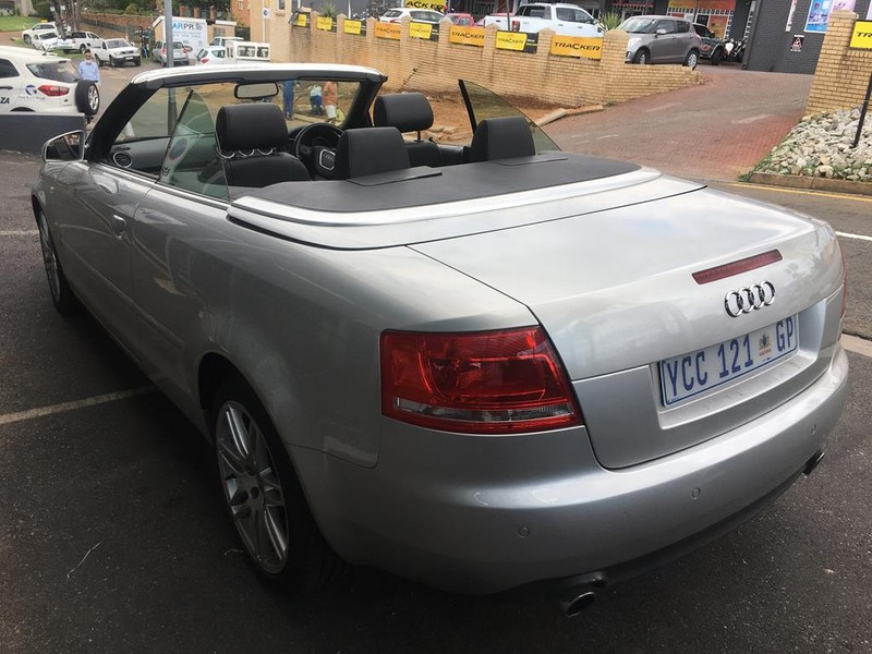 Used Audi A4 20t Fsi Cabriolet Multi For Sale In Gauteng Carsco