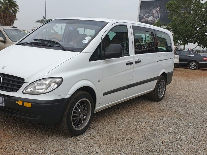 26506dbe63a2ce Used Mercedes-Benz Vito 115 2.2 Cdi Crew Bus for sale in Gauteng ...