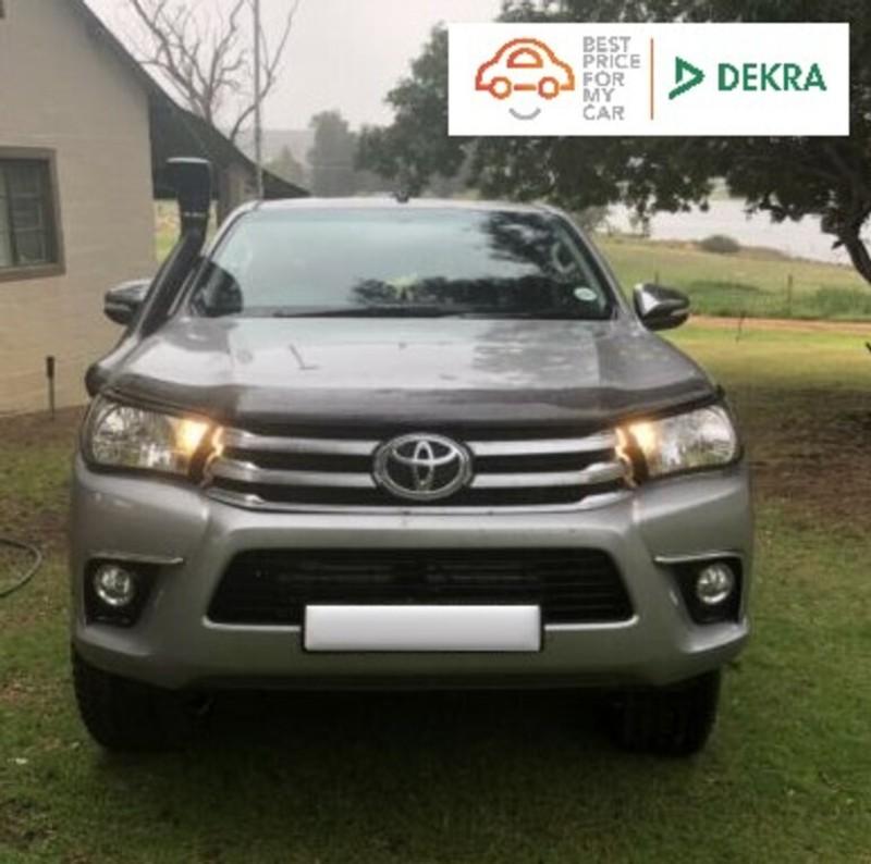 2017 Toyota Hilux 4.0 V6 Raider 4x4 Double Cab Bakkie Auto Western Cape Goodwood_0