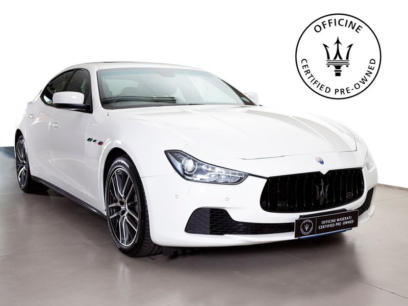2016 Maserati Ghibli Diesel Gauteng_0