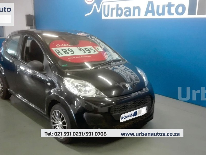 used peugeot 107 trendy for sale in western cape - cars.co.za (id