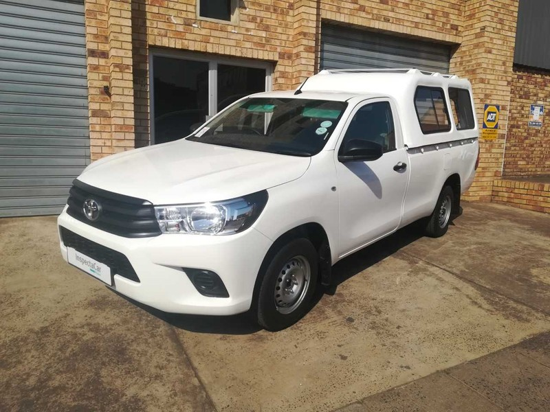 Used Toyota Hilux 2 0 VVT Single Cab Bakkie for sale in Kwazulu