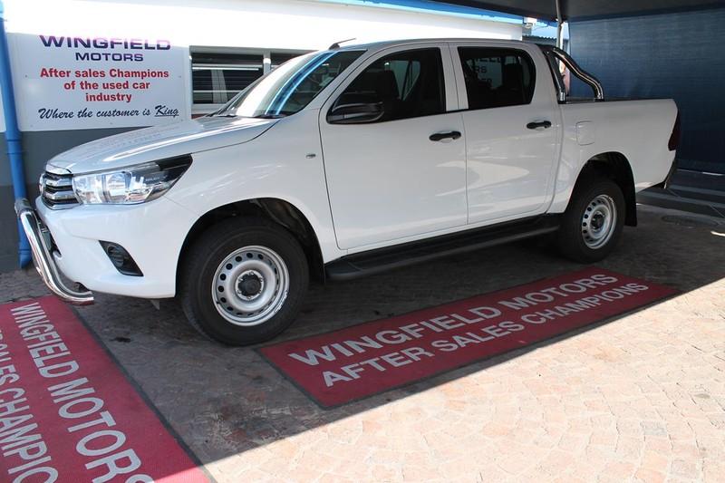 2017 Toyota Hilux 2.7 VVTi RB SRX Double Cab Bakkie Western Cape Kuils River_0