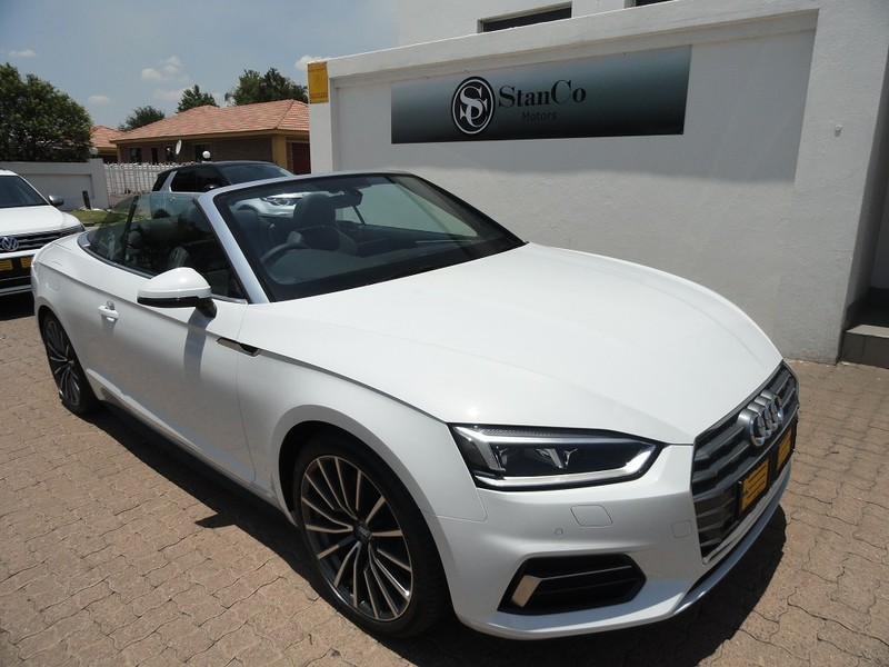 Used Audi A5 20t Fsi Cabriolet Sport Stronic For Sale In Mpumalanga