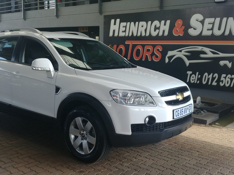 Used Chevrolet Captiva 2 4 Lt For Sale In Gauteng Cars Co