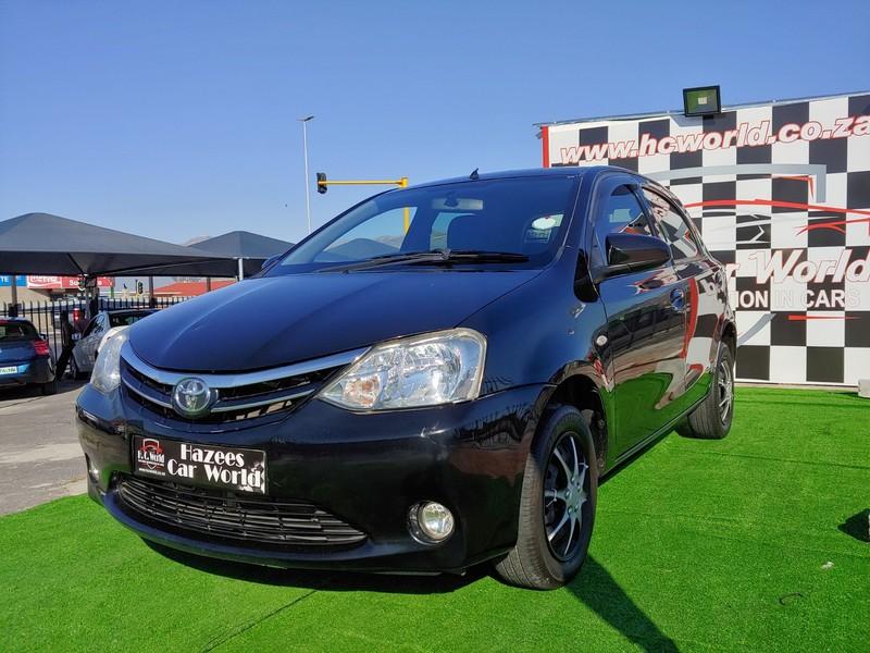 2013 Toyota Etios 1.5 Xs  Western Cape Strand_0