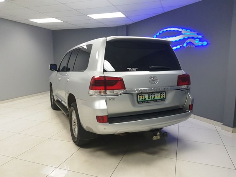 2017 Toyota Land Cruiser 200 V8 4.5d Vx At  Gauteng Vereeniging_0