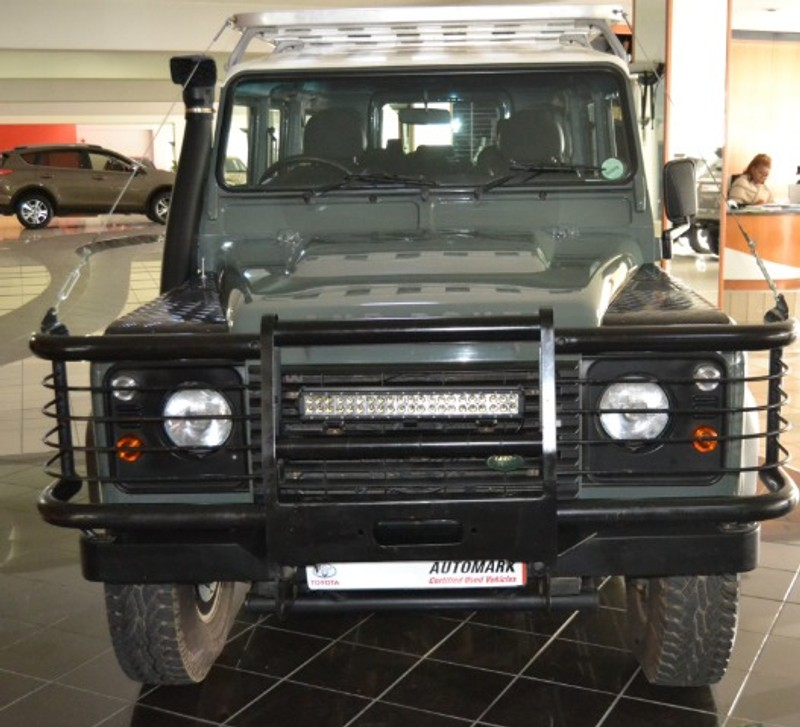 Used Land Rovers For Sale: Used Land Rover Defender Puma 110 Sw For Sale In Western