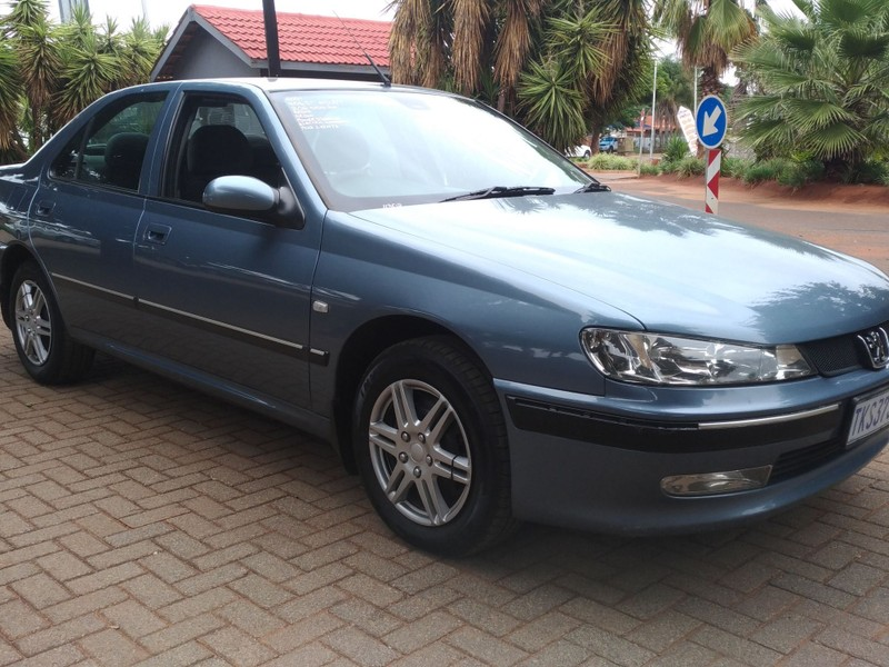2001 Peugeot 406 St 2.0 At  Gauteng Pretoria_0