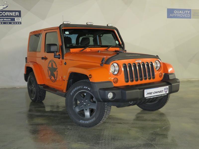 2012 Jeep Wrangler Sahara 3.6l V6 At 2dr  Gauteng Sandton_0