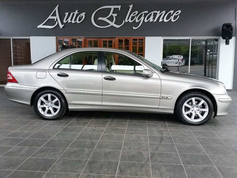 Used Mercedes Benz C Class C180k Classic A T For Sale In Gauteng