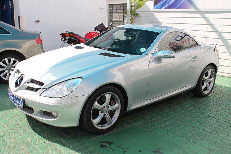 2007 Mercedes-Benz SLK-Class Slk 350 At  Western Cape Cape Town_0