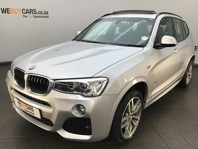 2016 BMW X3 xDRIVE20d M Sport Auto Gauteng Centurion_0