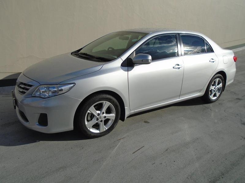 2012 Toyota Corolla 1.6 Advanced  Gauteng Rosettenville_0