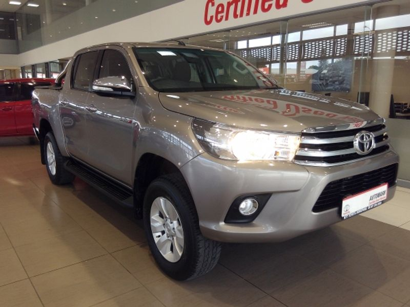 2017 Toyota Hilux 2.8 GD-6 Raider 4X4 Double Cab Bakkie Auto Limpopo Mokopane_0
