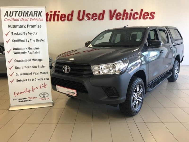 2018 Toyota Hilux 2.4 GD-6 RB S Double Cab Bakkie Western Cape Kuils River_0